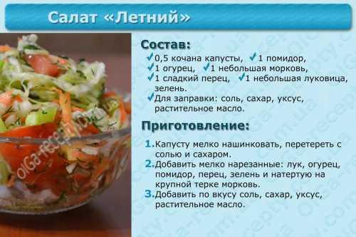 Интересные рецепты салатов 3