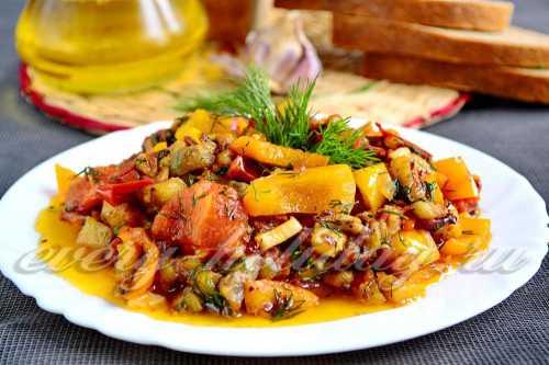 Соте из баклажанов: полезное блюдо