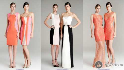 Самый модный фасон платьев 2014 года
