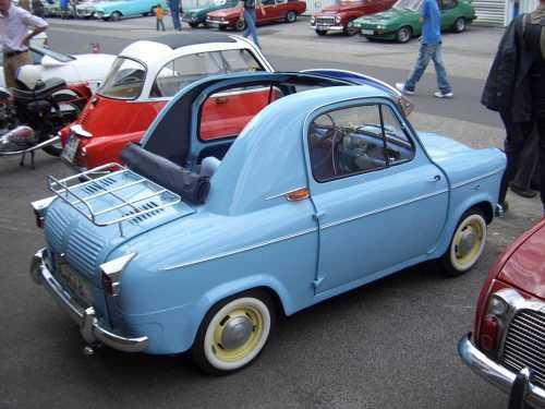 15 самых миниатюрных автомобилей в мире