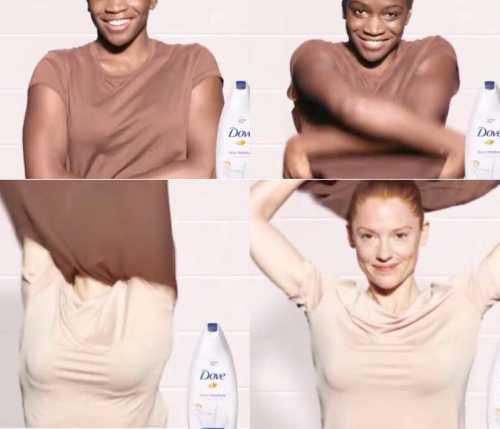 Новый рекламный ролик Dove обвинили в расизме
