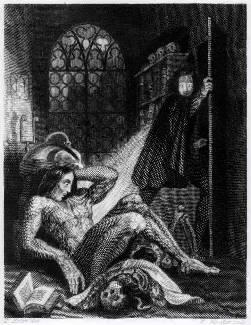 Мэри Шелли Гальванизированный ужас Франкенштейна
