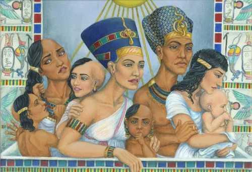 За что разлюбили Нефертити семейные отношения