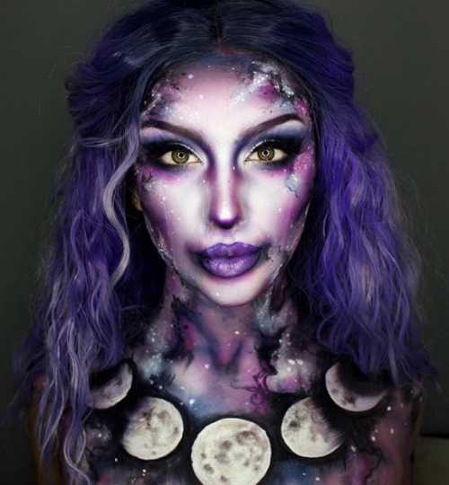 Макияж ведьмы на Хэллоуин: выбери образ на вечеринку