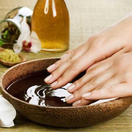 Народные средства для роста ногтей