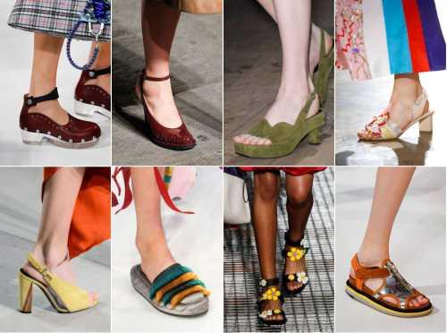 Больше цвета: модная обувь на весну