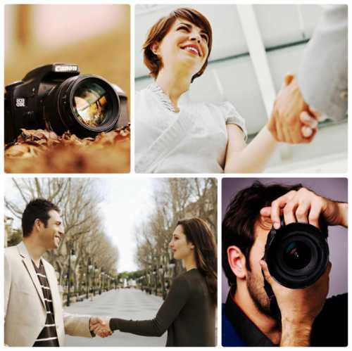 Общение фотографа