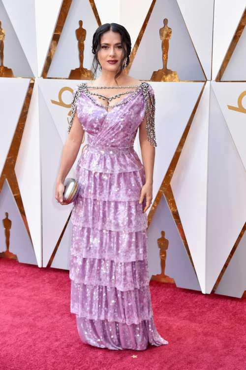 Оскар 2018: худшие наряды звезд фото