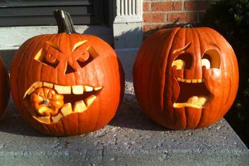 Тыква на Хэллоуин своими руками: идеи с фото