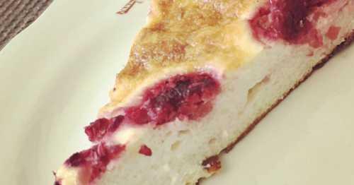 Творожная запеканка с ягодами: рецепт без муки