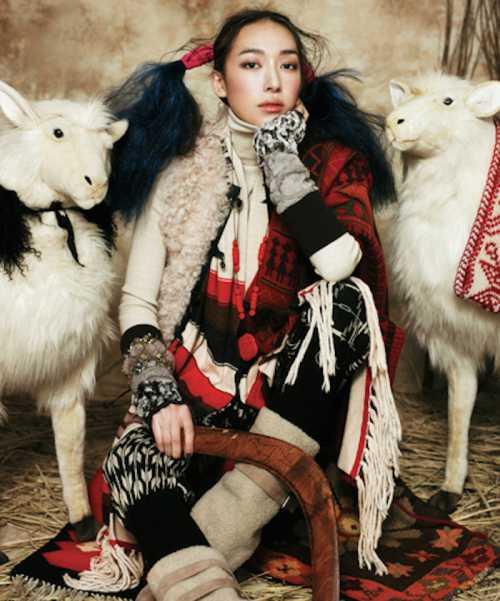Модная овца