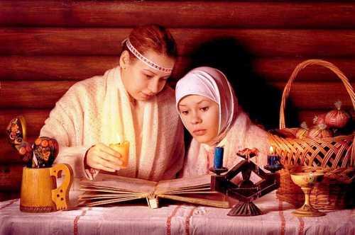 Гадания на Святки Традиционные гадания