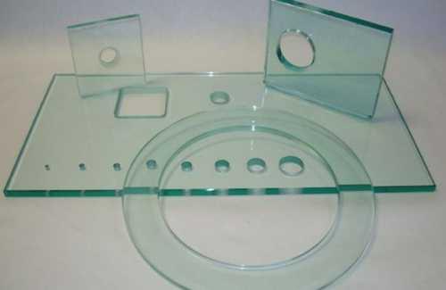 Сделать отверстие в стекле