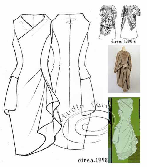 Как правильно носить платья сложного кроя