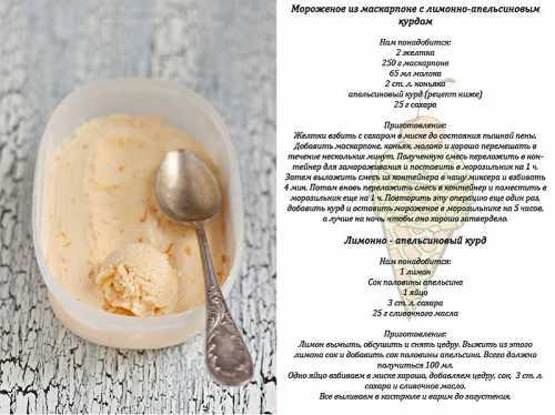 Мороженое в домашних условиях 10 рецептов