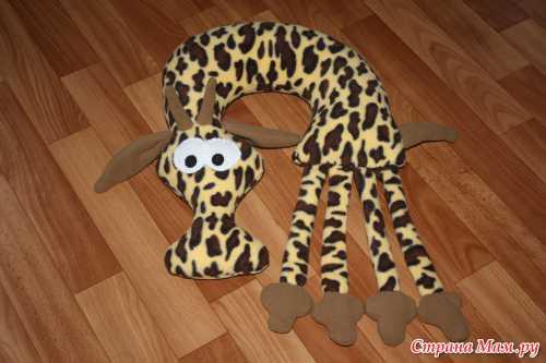 Игрушки своими руками: Жираф