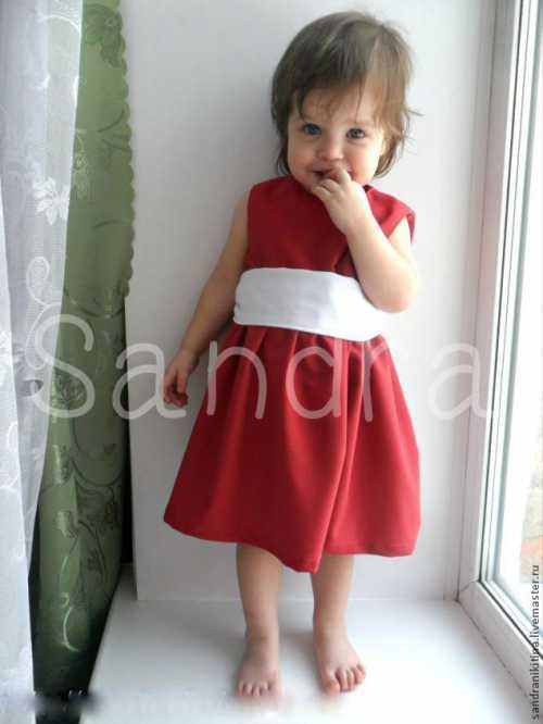 Новогодние платья для девочек – сшить самими быстро и просто Часть 2