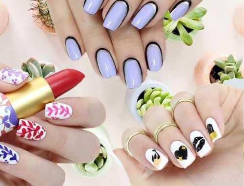 Именно такой весенний дизайн ногтей появится на выпускницах и очаровательных невестах уже скоро
