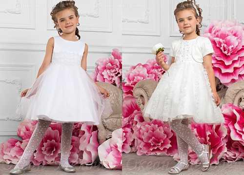 Поэтому не рекомендуется останавливать свой выбор на слишком длинных или коротких моделях платьев, это может сделать передвижение ребенка дискомфортным