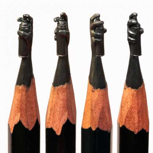 Характер на кончике карандаша