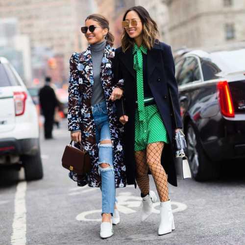 Европейская уличная мода - топ 5 образов на весну-лето 2014