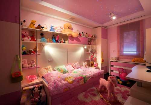 Комната для девочки: как оформить с фото
