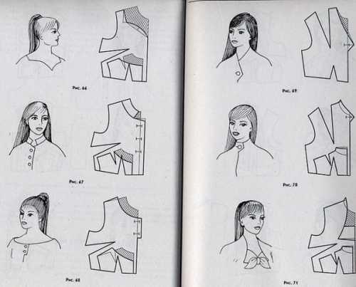 Рисуем ассиметричную горловину