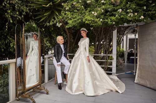 Как создавалось свадебное платье Миранды Керр фото, видео
