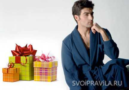 Советы шопоголиков Выбираем мужской халат: как угодить любимому